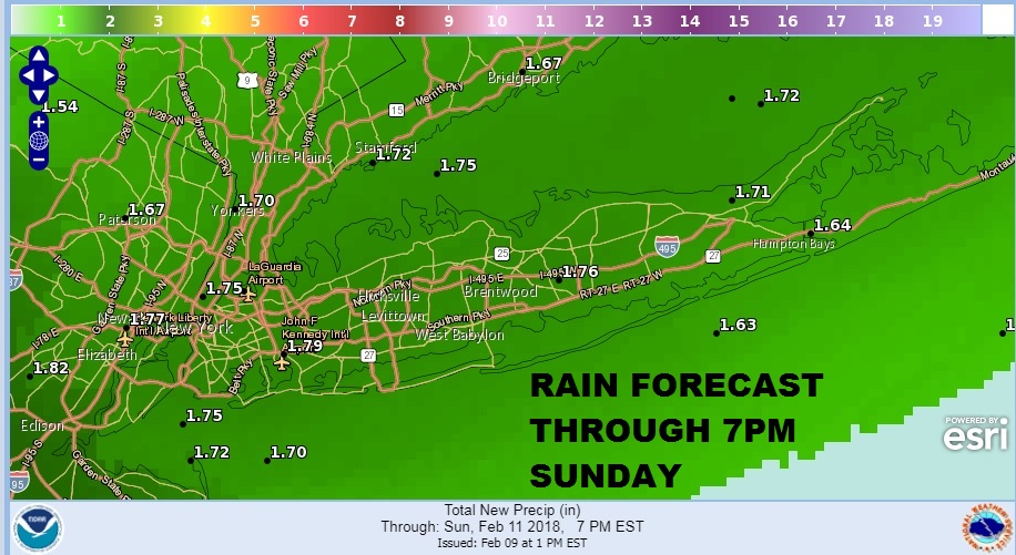 Long Island Weather Forecast For Weekend