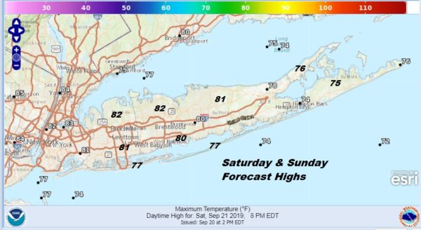 Beach Weekend Long Island Rip Currents High Surf Through Saturday