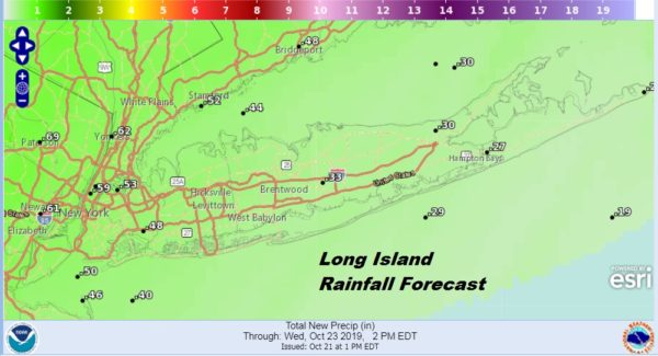 Long Island Weather Showers Late Tuesday No Major Storms Ahead