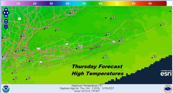 All Time Record October High Temperature Tied At Islip