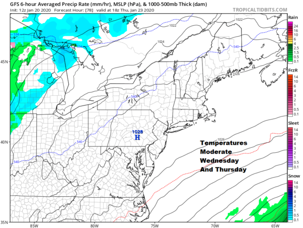 Cold Week Ahead Next Storm System Due This Coming Weekend
