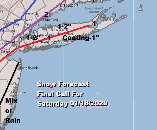 Winter Weather Advisory Long Island Except Southeast Suffolk Saturday